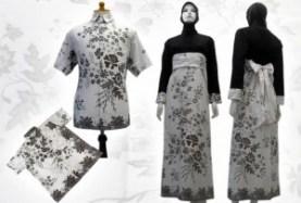 Batik Kantor Model Baju Batik Muslim Model Baju Batik Wanita Modern