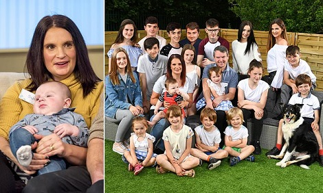 Britain's Most Biggest Family Gives Birth To Baby No 21