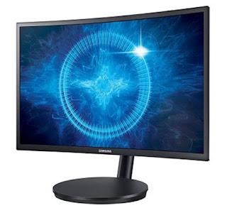 Monitor Komputer Gaming Gaming Samsung  27 Inch CFG70