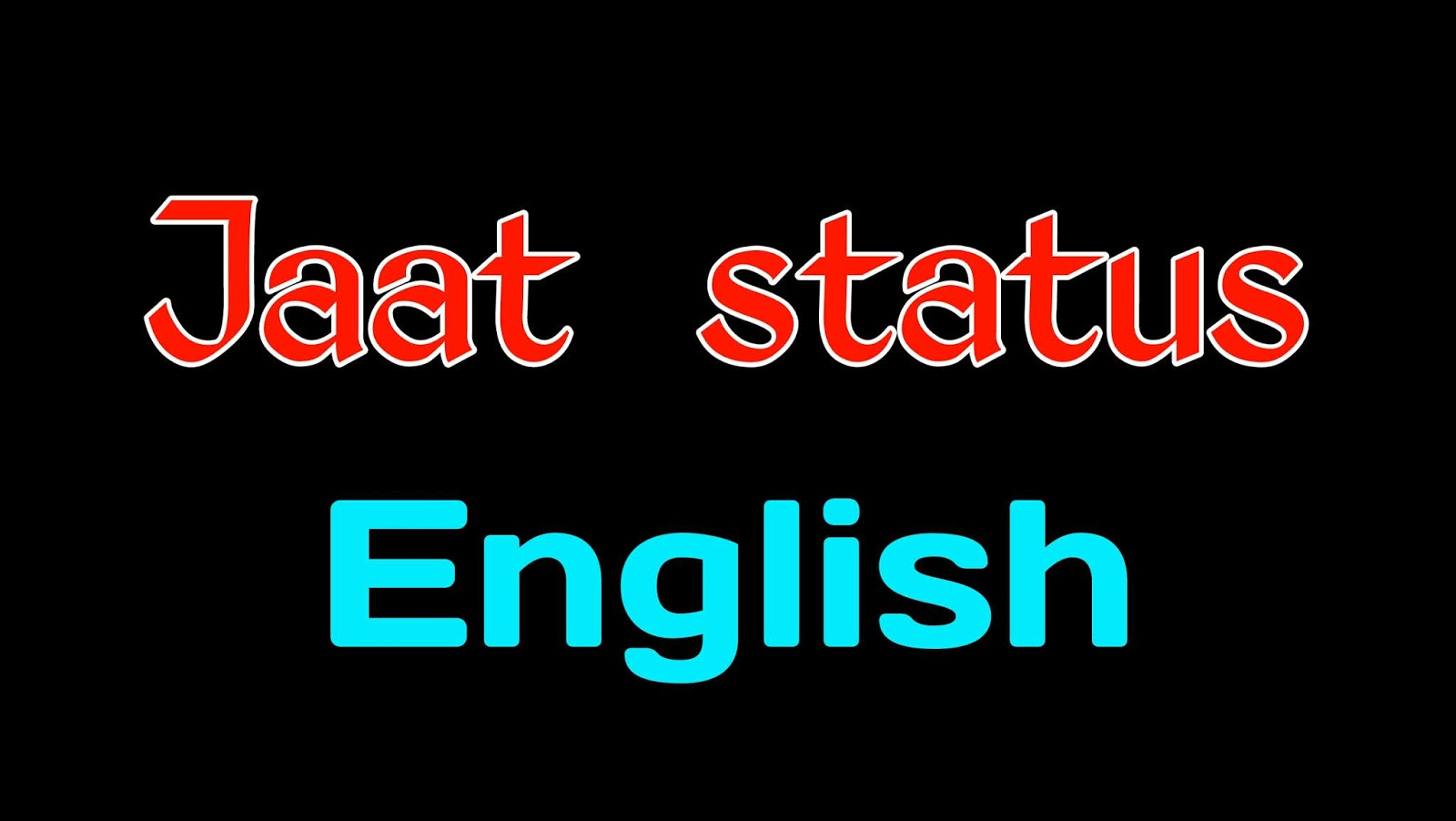 Jaat Status in English [ Jaat Status ] Jaat boy status in