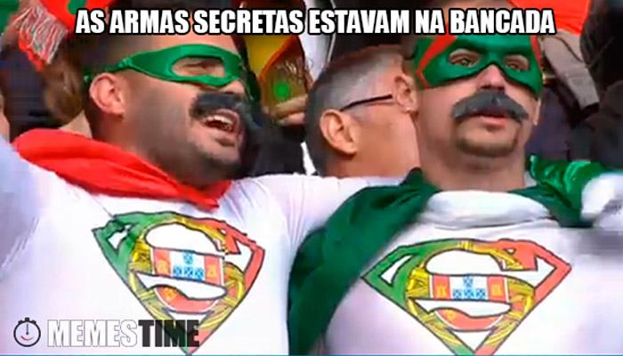 Meme Adeptos Tugas – As Armas secretas estavam na Bancada