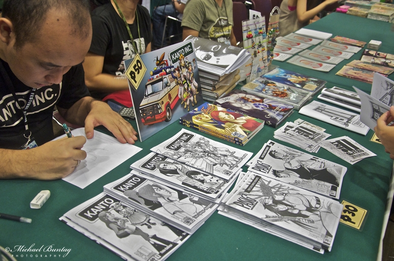 Kanto Inc., Exhibit Hall, Komikon 2012