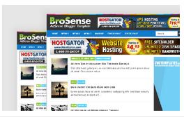 Brosense - Template Blog CTR Tinggi