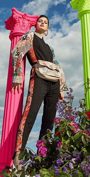 mono mujer accesorios bolso Desigual Lacroix verano