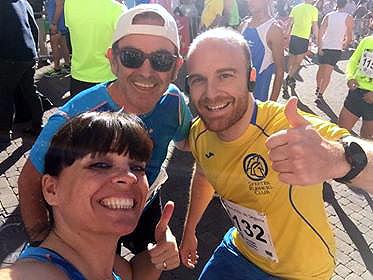 Atletismo Aranjez en Cantalejo