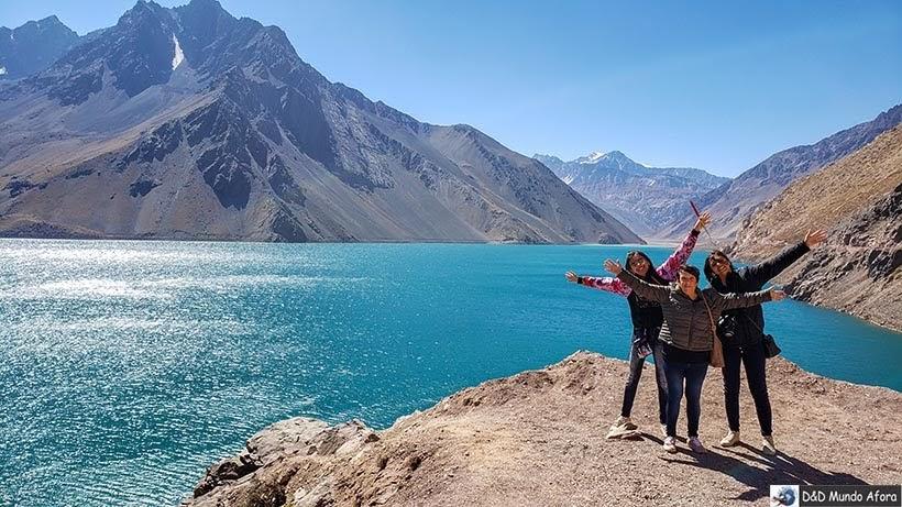 Embalse el Yeso - Chile: Retrospectiva de viagem 2019