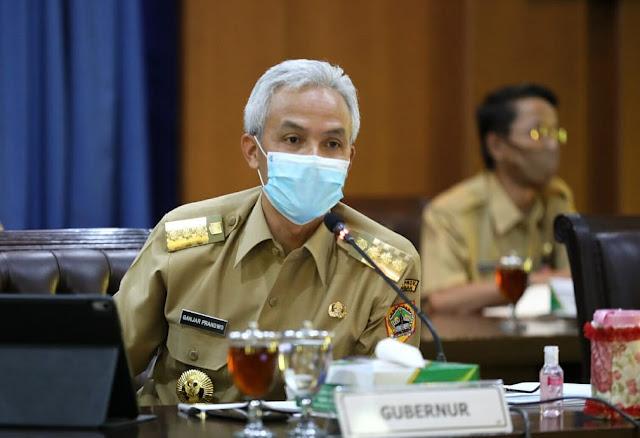 Ganjar Mulai Ikuti Anies, Minta Kota Semarang Segera Tarik Rem