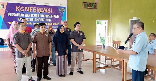 Ratna Dewi Terpilih Pimpin PWI Lombok Timur Periode 2020-2023