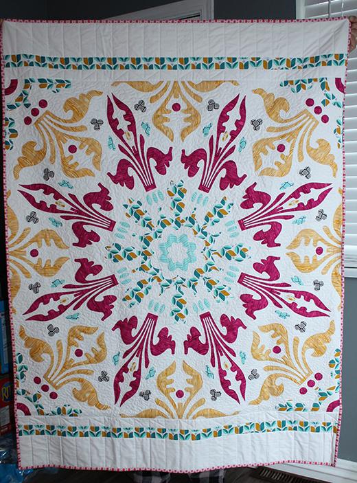 Fleur-De-Lis Quilt Free Pattern