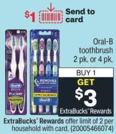FREE Oral-B Toothbrush CVS Deal 12/27-1/2