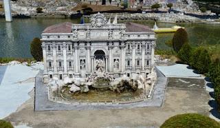 Italia en Miniatura, Fontana de Trevi, Roma.