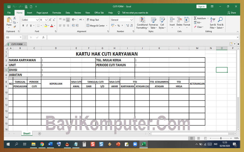 Cara Mengubah Atau Convert File Excel Xlsx Menjadi File Gambar Jpg Menggunakan Whatsapp Web Bayi Komputer