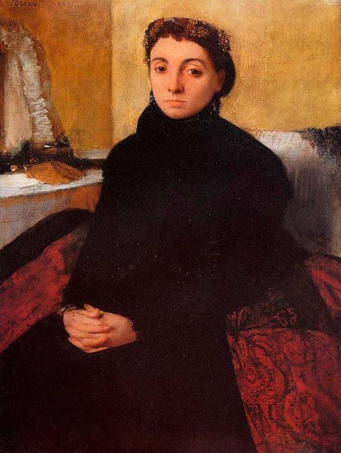 Эдгар Дега - Портрет Жозефины Гайян (1868)