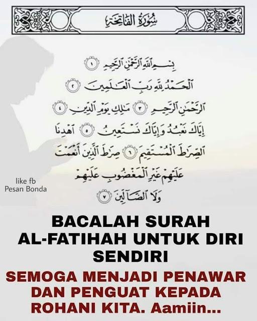 Doa Untuk Diri Sendiri : untuk, sendiri, Al-FATIHAH, Untuk, SENDIRI, WARTA, SUNDA, ONLINE, Majalah, Warta, Sunda