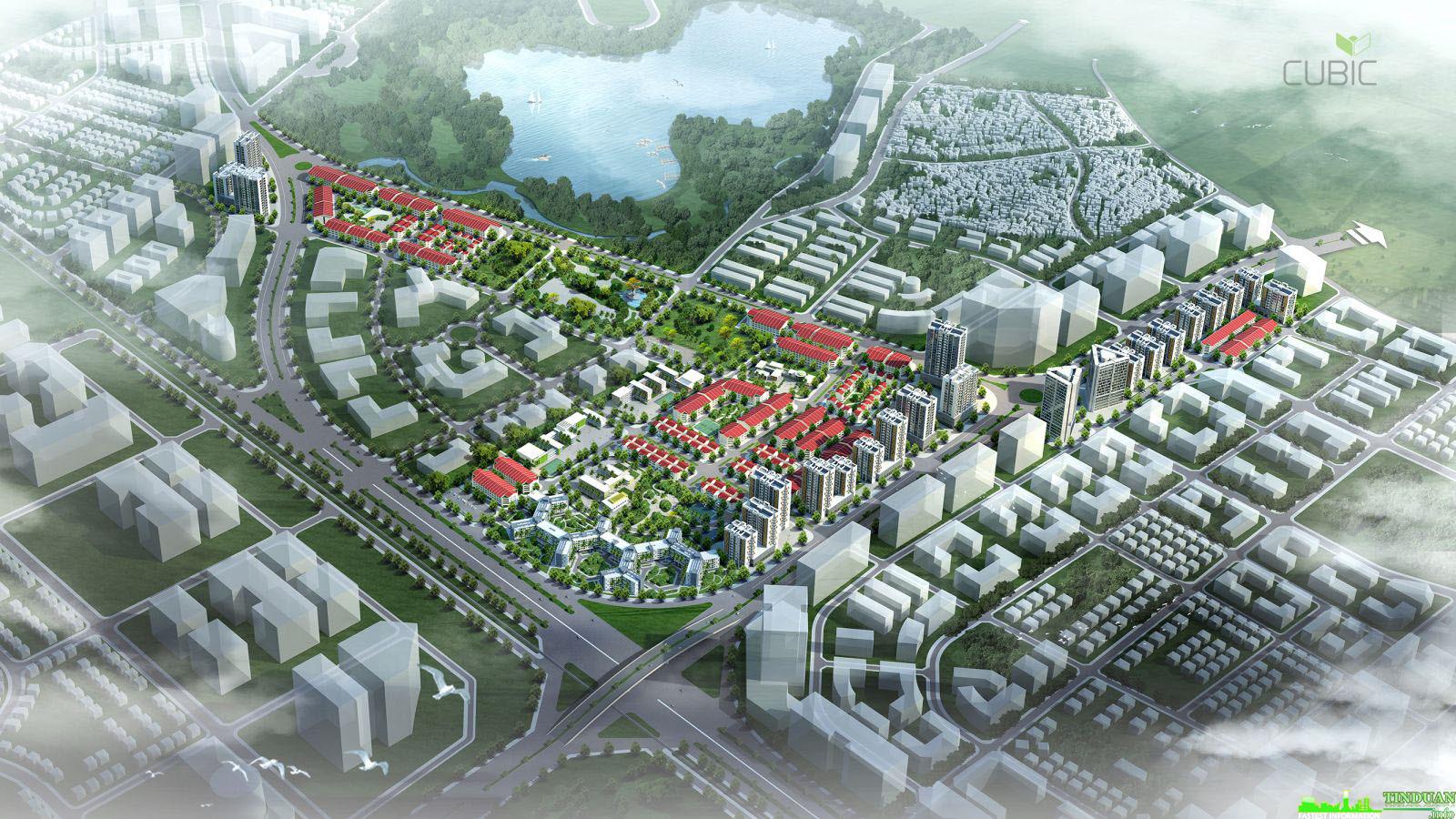 Khu đô thị Xanh Dự Án Diamond Lotus Green World