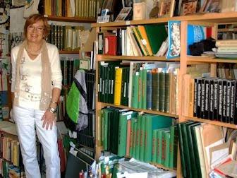 Ana Maria Molera en la Biblioteko Molera