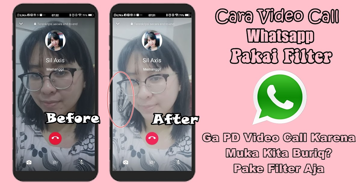 Cara Video Call Whatsapp Pakai Filter Rumah Multimedia