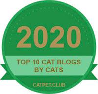 CatPetClub Badge 2020 Top 10 Blogs