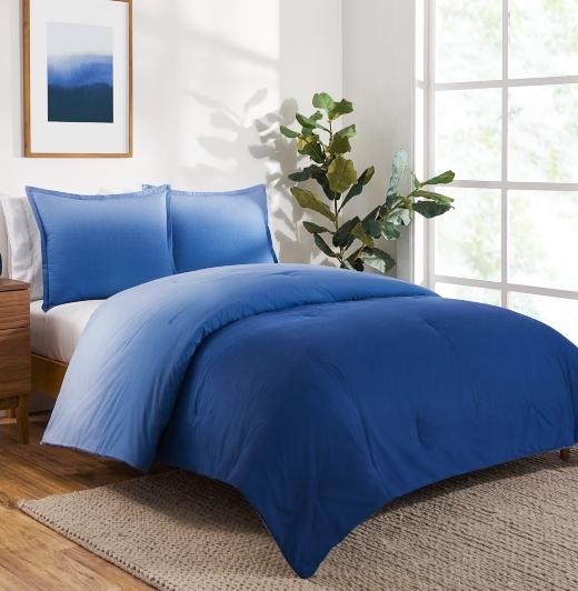 Ombre Blue Bedding