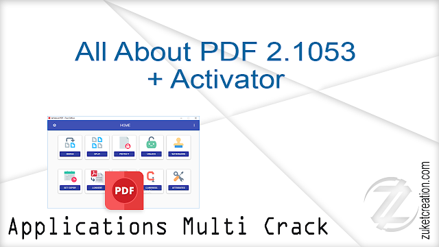 All About PDF 2.1053 + Activator