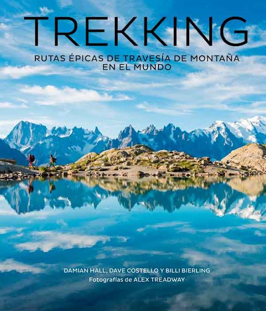 Portada de rekking, Rutas Épicas de Travesía de Montaña en el Mundo (Lunwerg Editores)