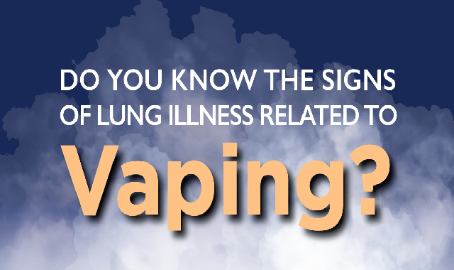 Do You Know the Signs of Vaping-Related Lung Illness? #infographic
