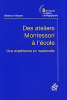 Liste d'ateliers Montessori à l'école maternelle publique - Béatrice Missant