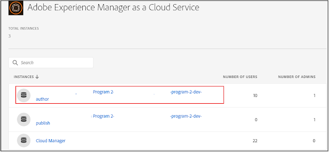 AEM as Cloud Service Sandbox