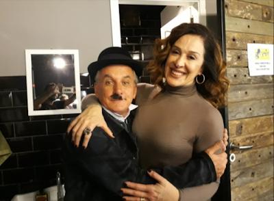 Segunda: Otávio e Cláudia Raia em Chaplin (Divulgação/SBT)