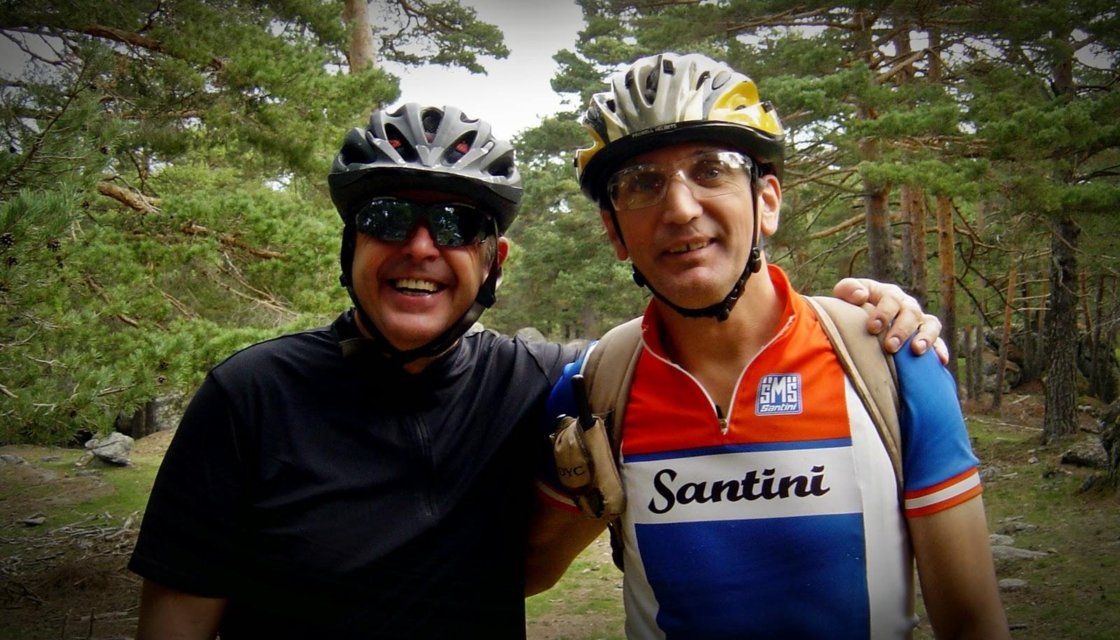 MTB en San Rafael y El Espinar - Alfonsoyamigos