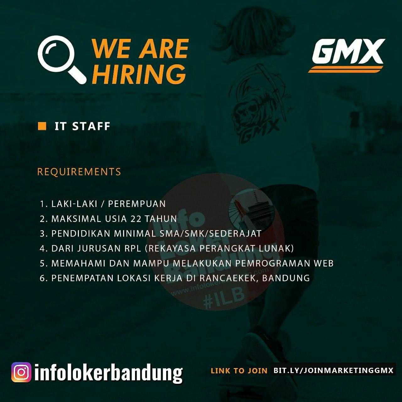 Lowongan Kerja It Geoff Max Footwear Bandung Juni 2020 Info Loker Bandung 2021