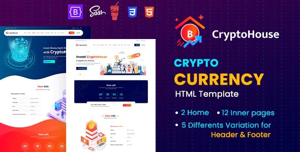 Best Minimal & Professional Crypto Currency HTML Template
