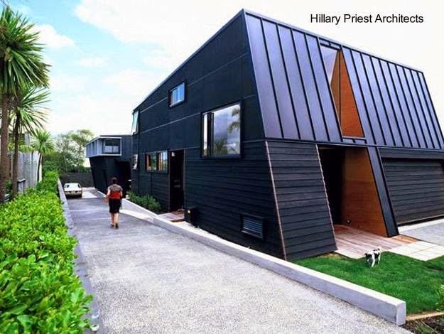 Residencia contemporánea en Nueva Zelanda