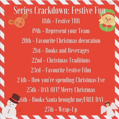 Series Crackdown: Festive Fun Readathon Instagram Photo Challenge