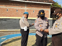 Pekan Disiplin Polsek Slahung Dalam Rangka Hari Bhayangkara Ke 75 Tahun 2021