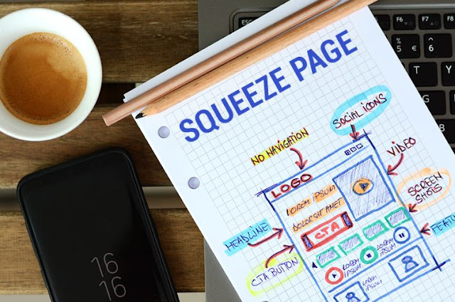 squeeze pages call-to-action conversions landing page