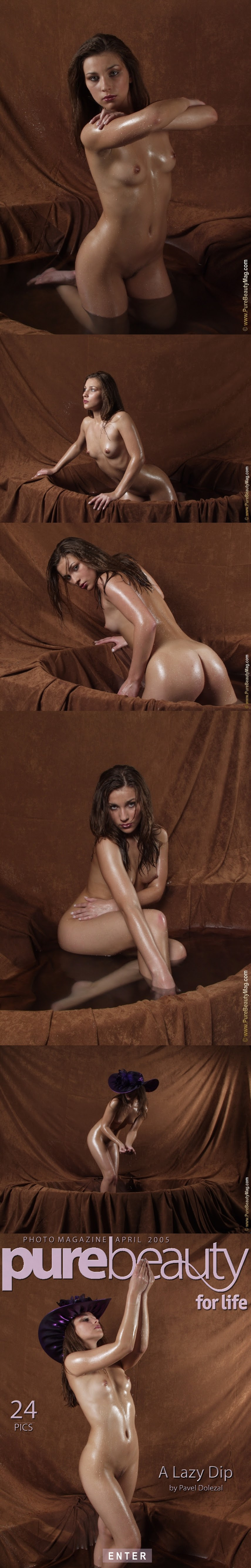 PureBeautyMag PBM  - 2005-04-01 -  s43909 - Kristyna - A Lazy Dip - 2560pxReal Street Angels