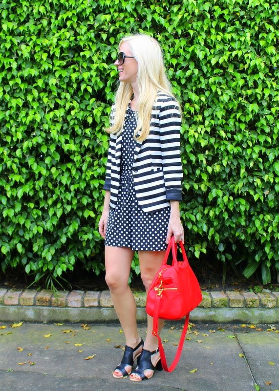 Polka dots & stripes.