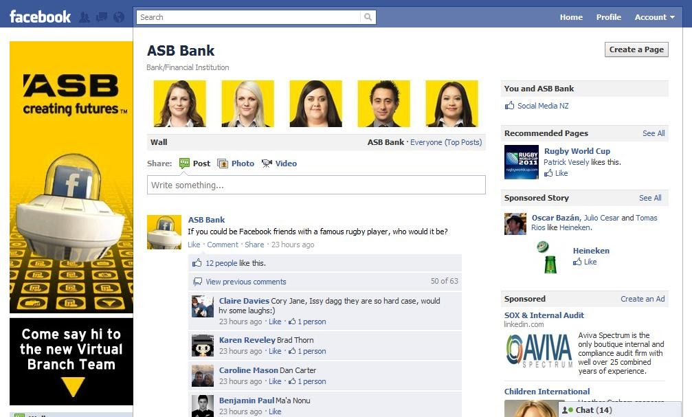 Social Media and Banking: ASB Bank's Customer Service