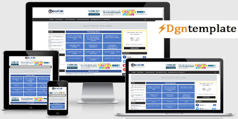 InJob Free Responsive Blogger Template-dgntemplate