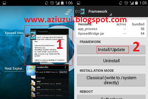 Mengatasi Xposed Installer GB Tidak Bisa dijalankan