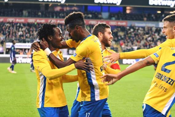 Tau brace helps Saint-Gilloise make history in Belgian cup