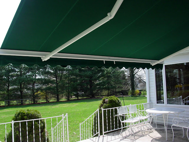 tenda gulung taman