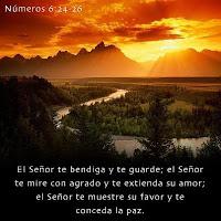 Dios viene con bendición