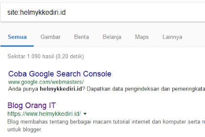 Cara menggunakan operator pencarian google