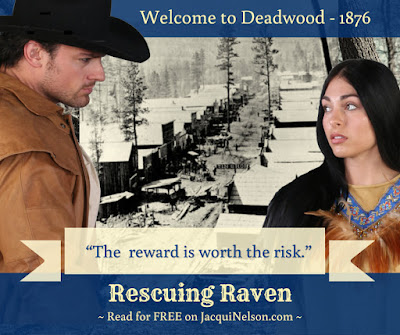 The reward is worth risk. Read Rescuing Raven for free on my website www.JacquiNelson.com