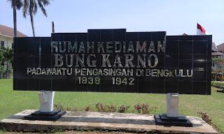 Mengenal Rumah Pengasingan Bung Karno di Bengkulu