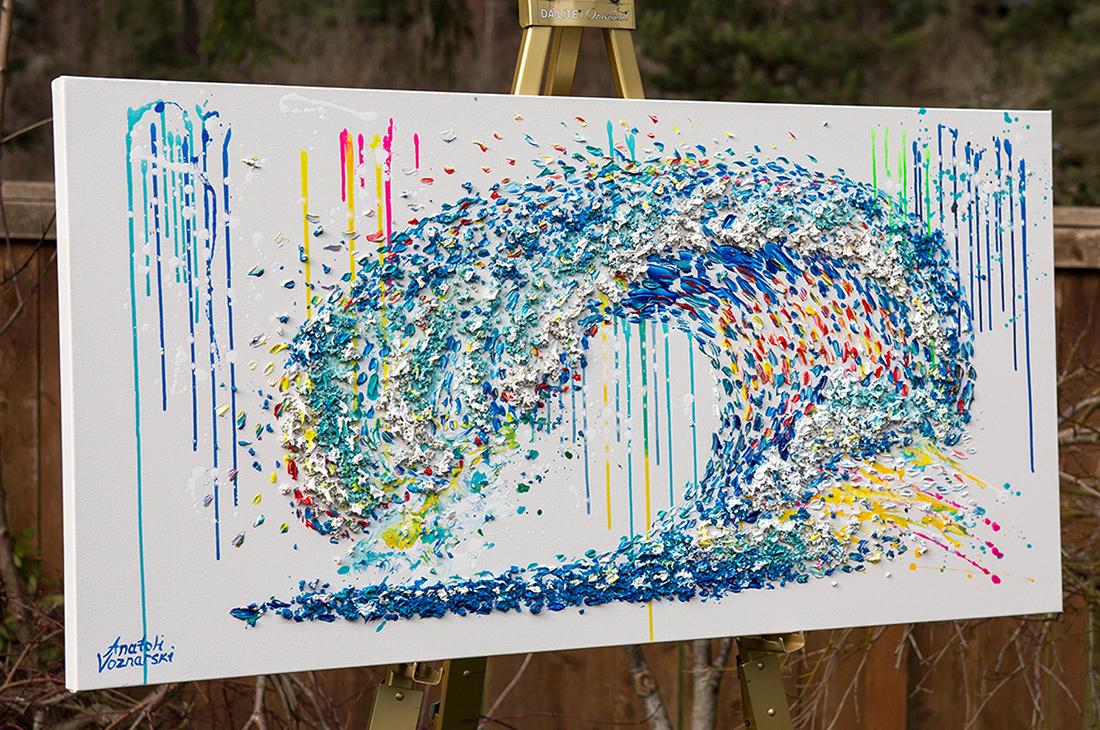Ocean wave painting, abstract Ocean wave, 3d Ocean wave,Ocean wave voznarski,Ocean wave textured,Ocean wave  dot,Ocean wave  unique ,Ocean wave mixed