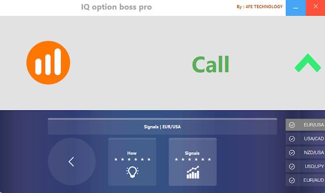 IQ Option Boss Pro Robot- Free Download