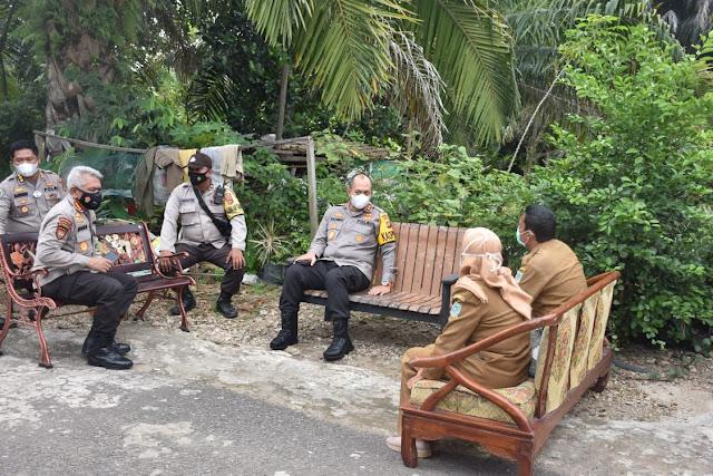 Tekan Lonjakan Covid-19, Kapolda Jambi Tinjau Rumah Isolasi Mandiri di Kota Jambi